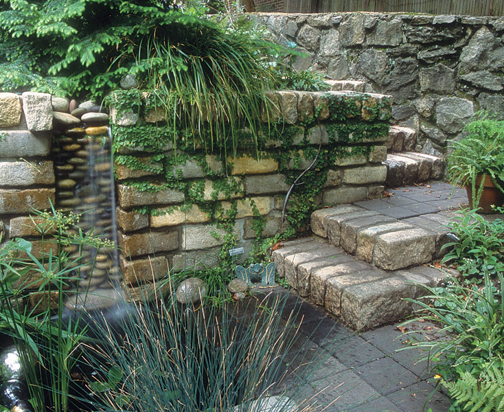 Small Backyard Water Features | Modern Diy Art Designs